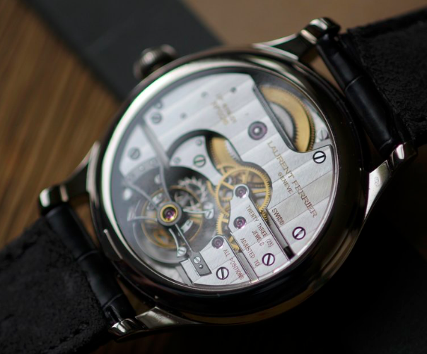 Revolution Magazine:  Dream Time Laurent Ferrier Tourbillon