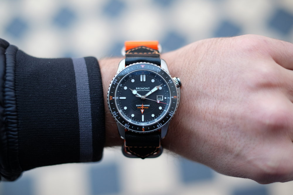 Hodinkee:  Introducing The Bremont Endurance Limited Edition (Live Pics & Pricing)