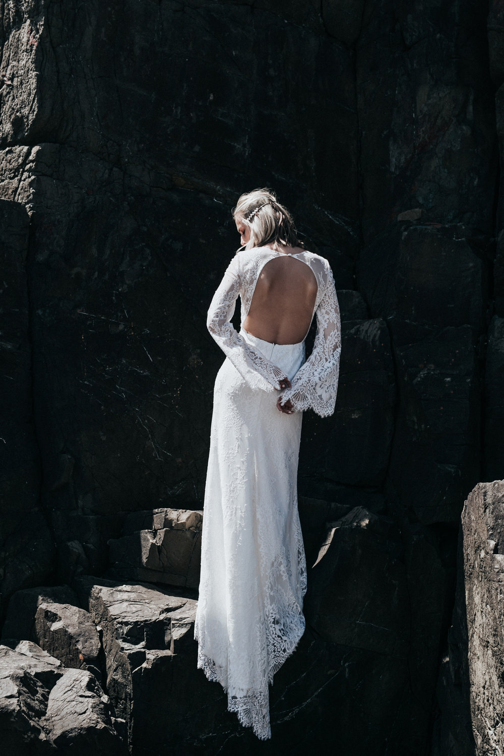 The Lani Gown... Photographed by Willow & Co