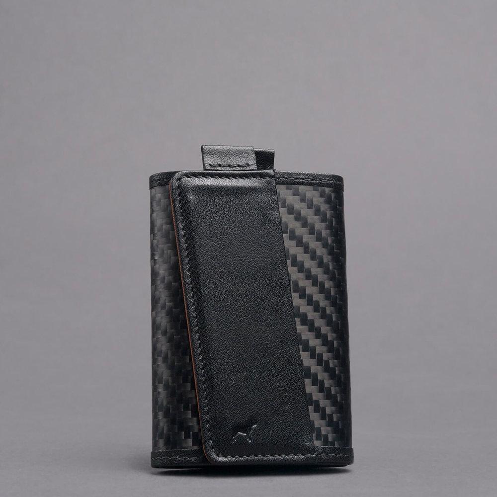 carbon fiber slim functional style speed wallet