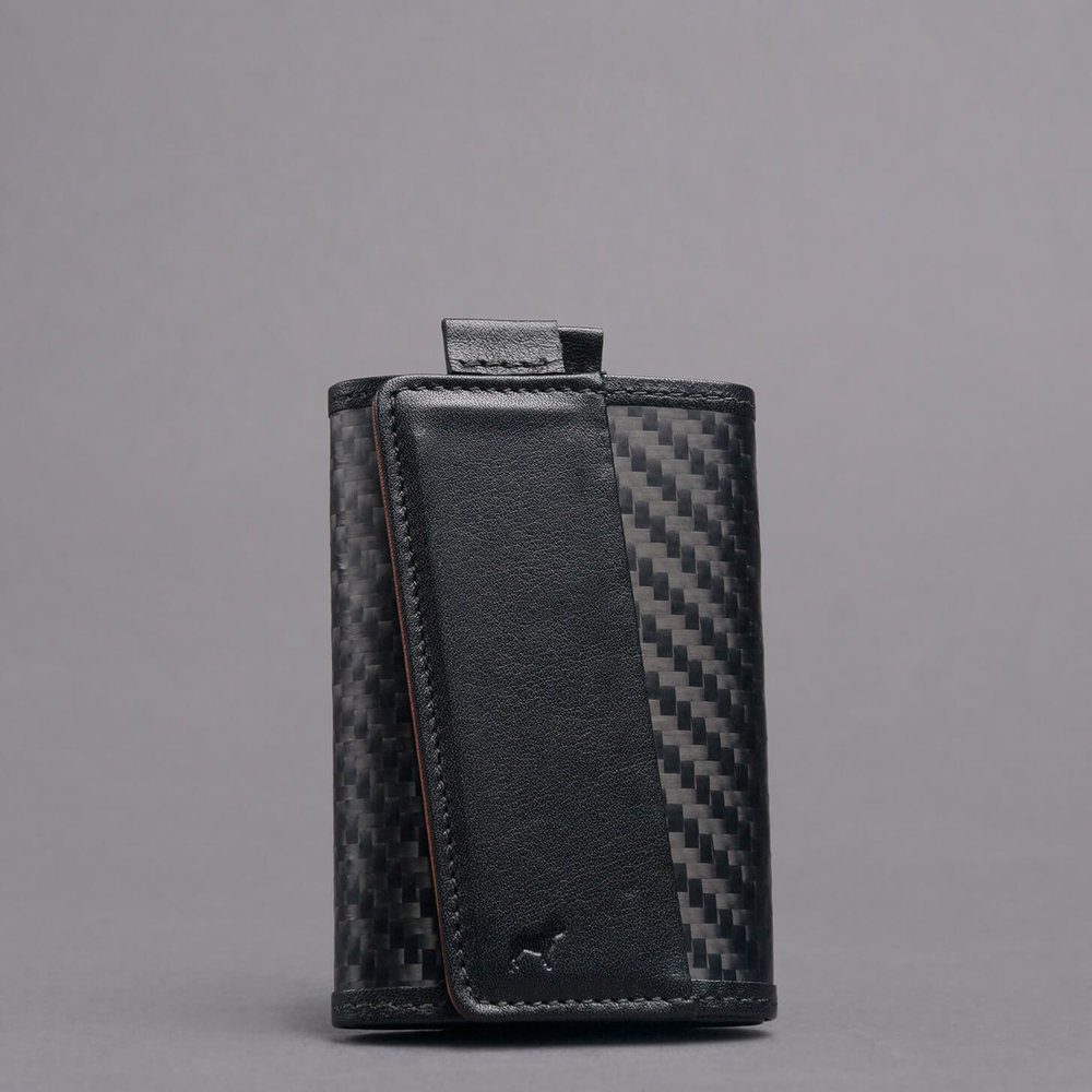 carbon fiber slim style functional speed wallet the frenchie co