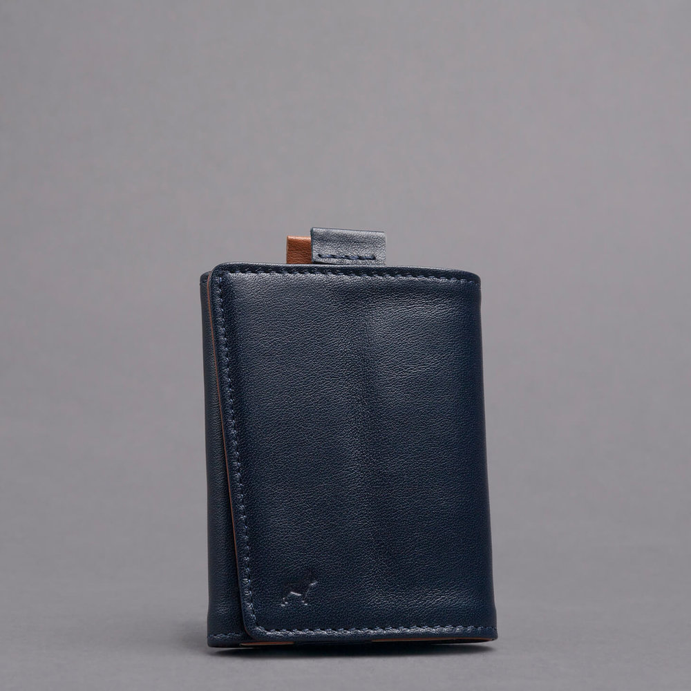 Speed wallet mini finest Italian leather