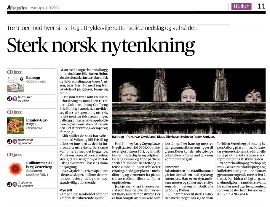 honest-john-cabin-music-aftenposten-review