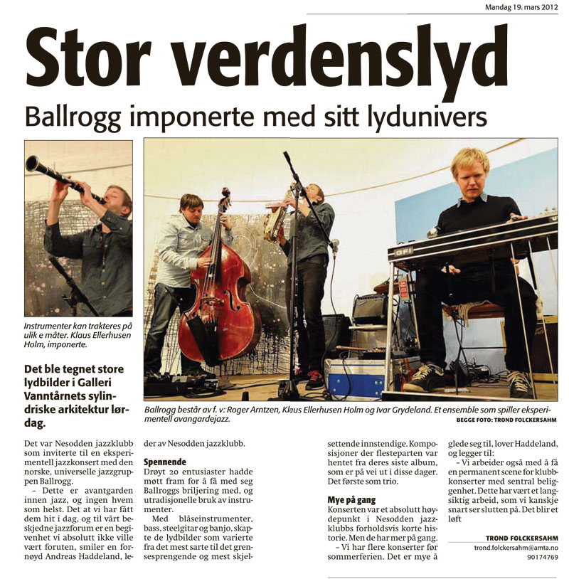 ballrogg-concert-review