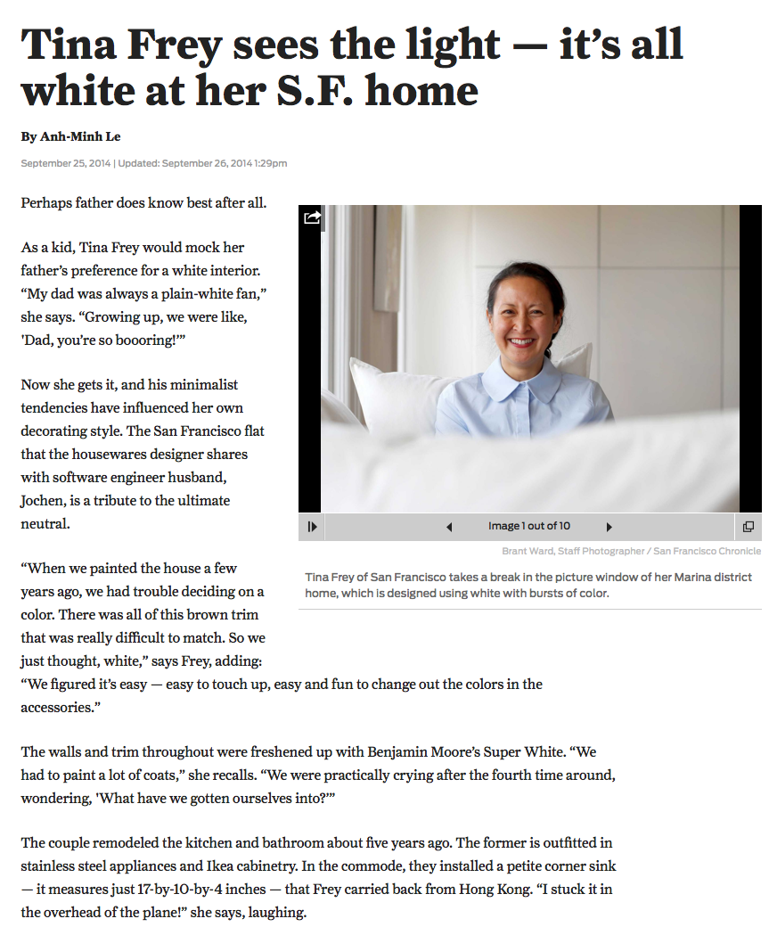http://www.sfchronicle.com/homeandgarden/article/Tina-Frey-sees-the-light-it-s-all-white-at-5781232.php#/0