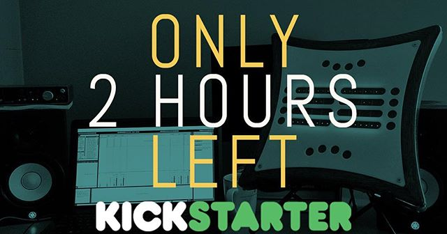 Down to the wire! 2 hours left on our Kickstarter! https://www.kickstarter.com/projects/919122189/mune-a-new-kind-of-electronic-instrument . . #synth #midi #kickstarter #mune