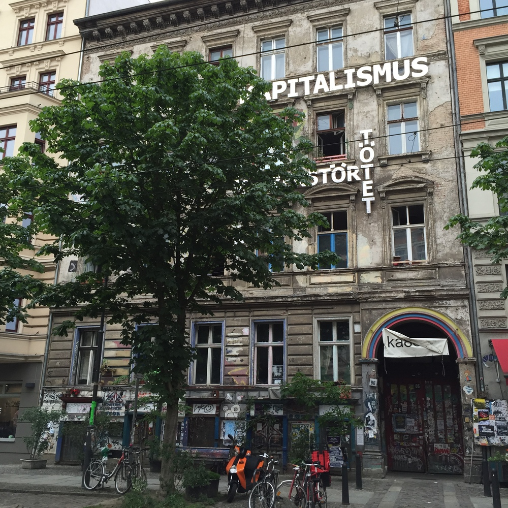 Pre-gentrification in the historic Mitte district.