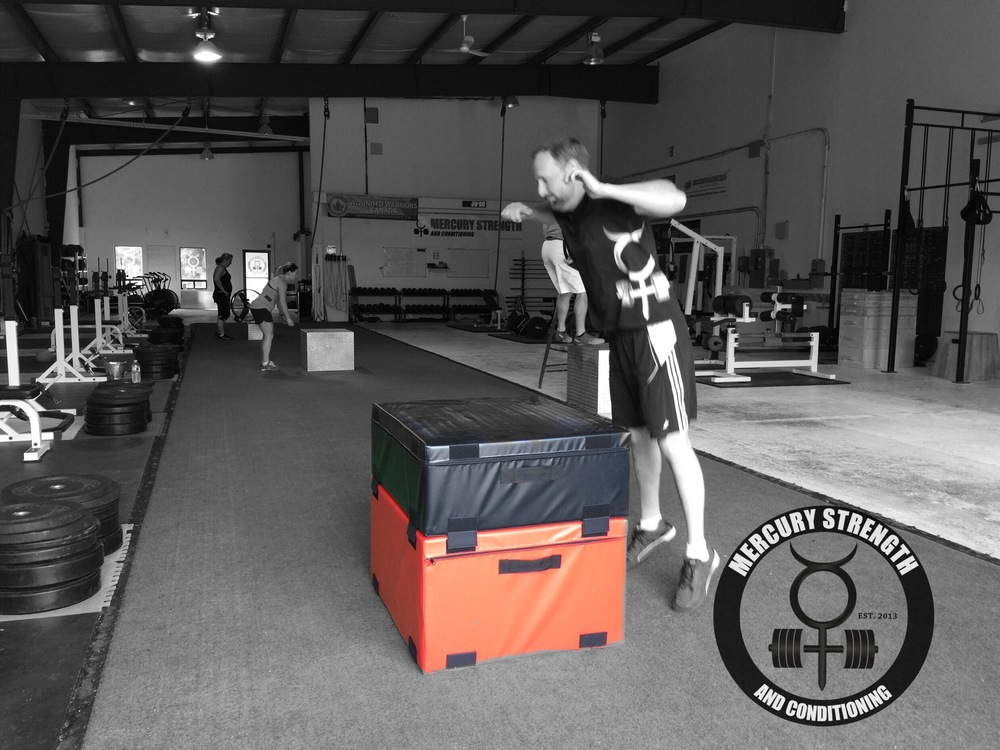 Andrew getting comfortable with our new foam boxes.
