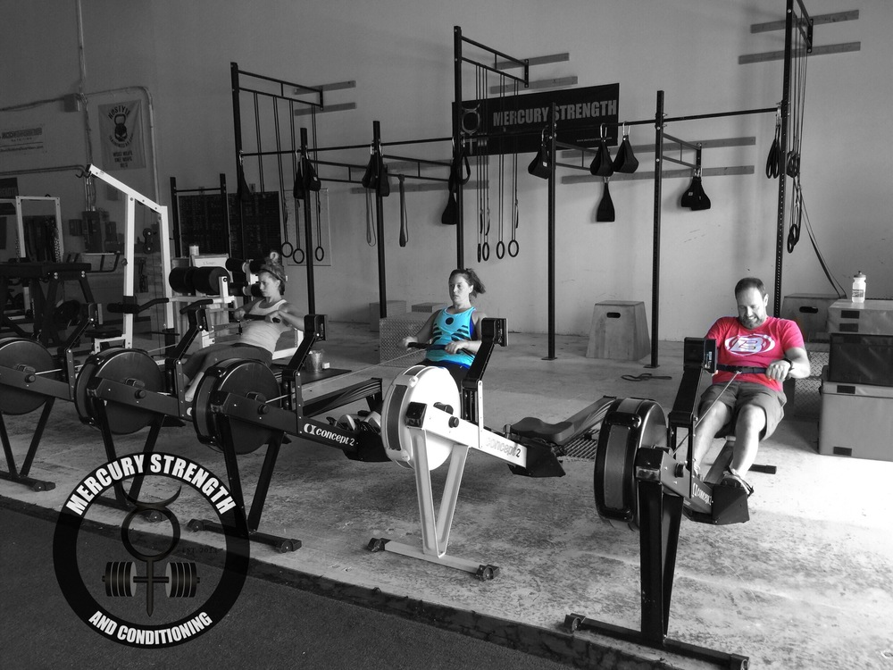 Some of the 09:30 crew with some rowing sprints.  ***BE SURE TO READ TODAY'S ARTICLE. WE GET A LOT OF QUESTIONS REGARDING THIS TOPIC.***
