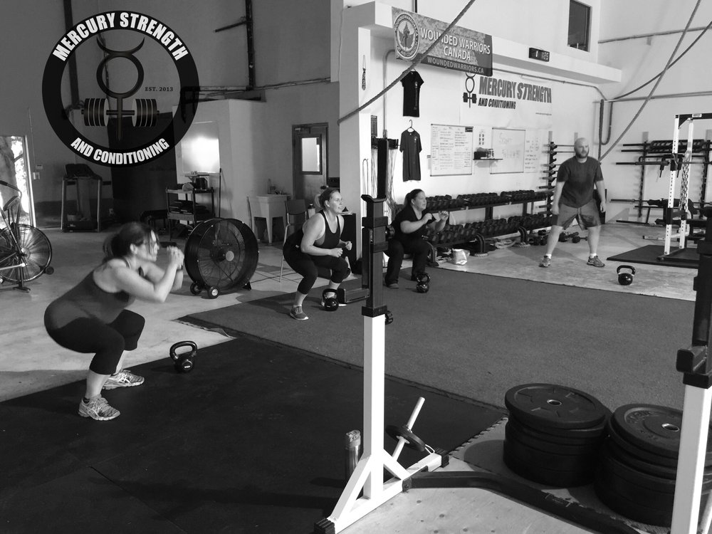 17:45 peeps with some bodyweight squats.
