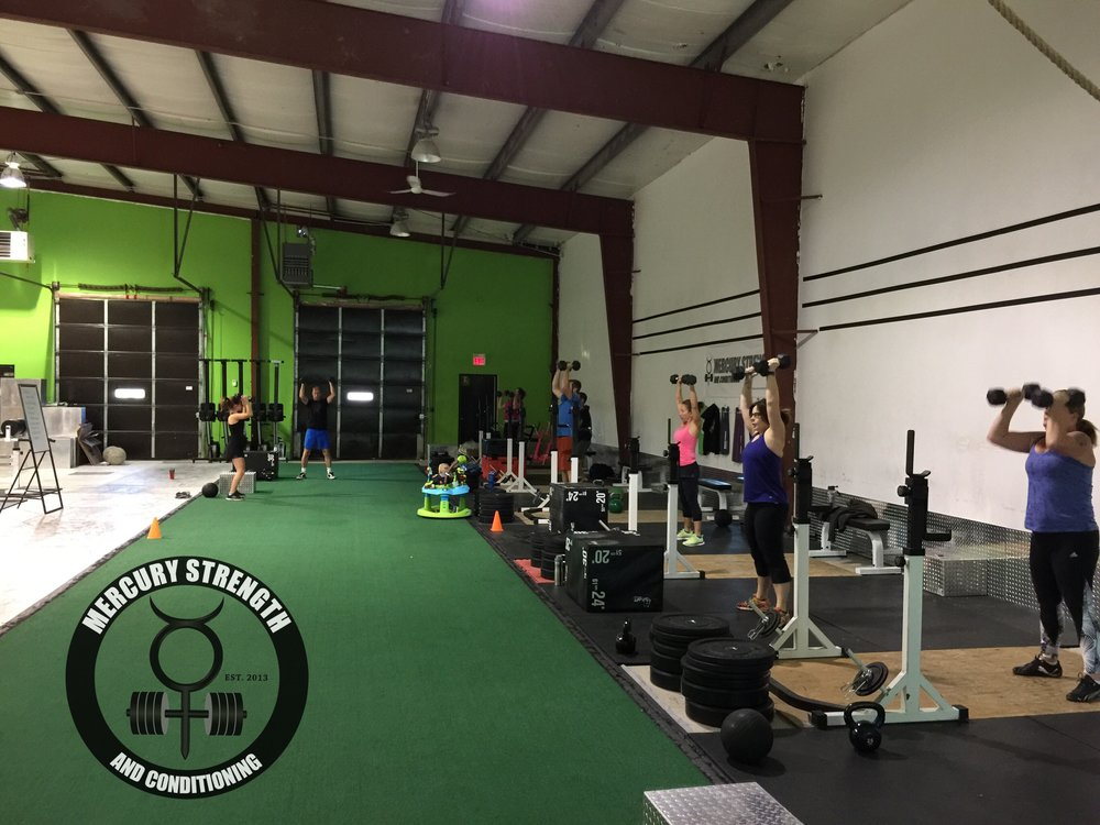 A good turn out for a Thanksgiving workout yesterday!
