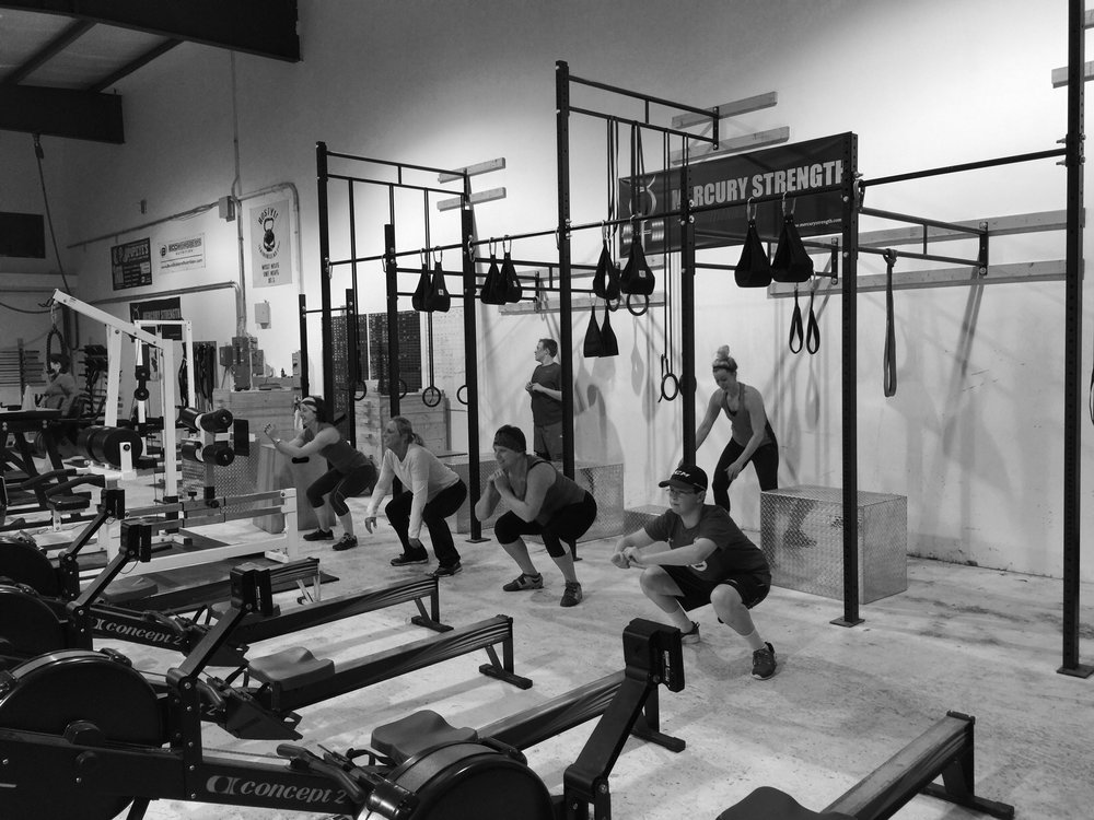 The 16;45 sessions enduring some tabata squats after either a max effort squat or 10x10.
