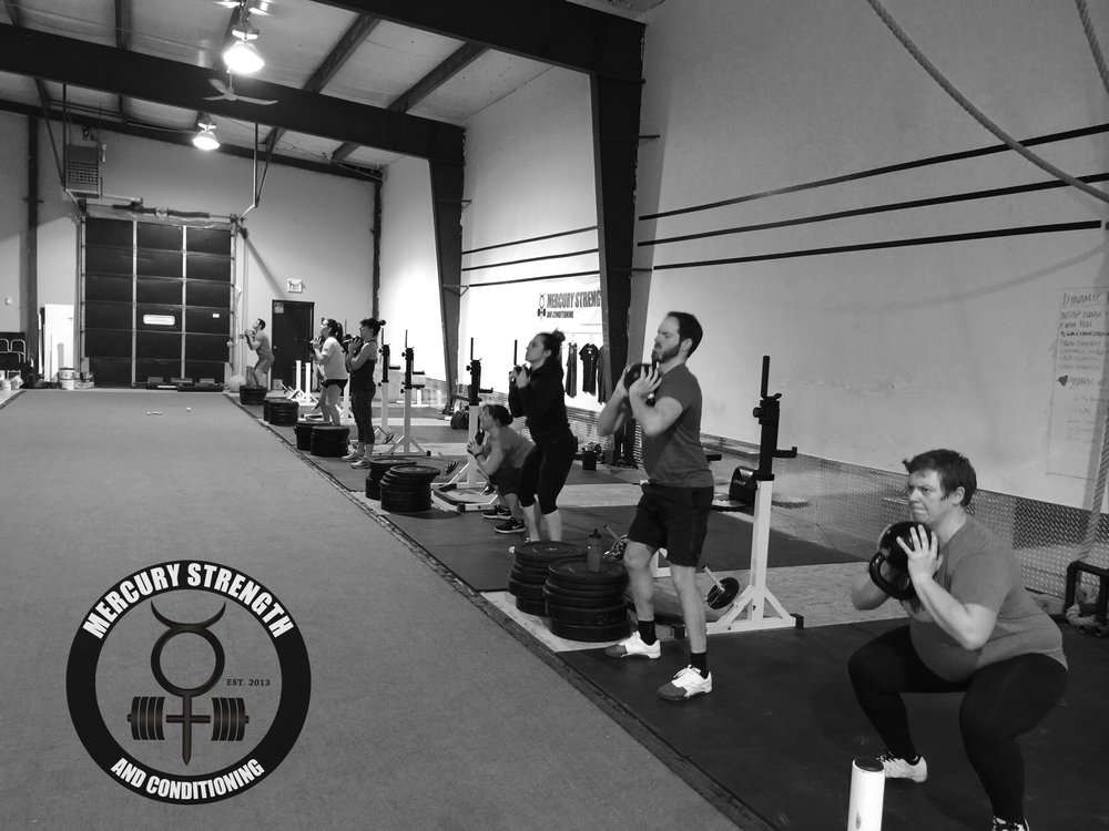 Gym-powerlifting-fitness-training-bootcamp-crossfit-kingston-kids-mercury-strength-conditioning-athlete-goblet-squat