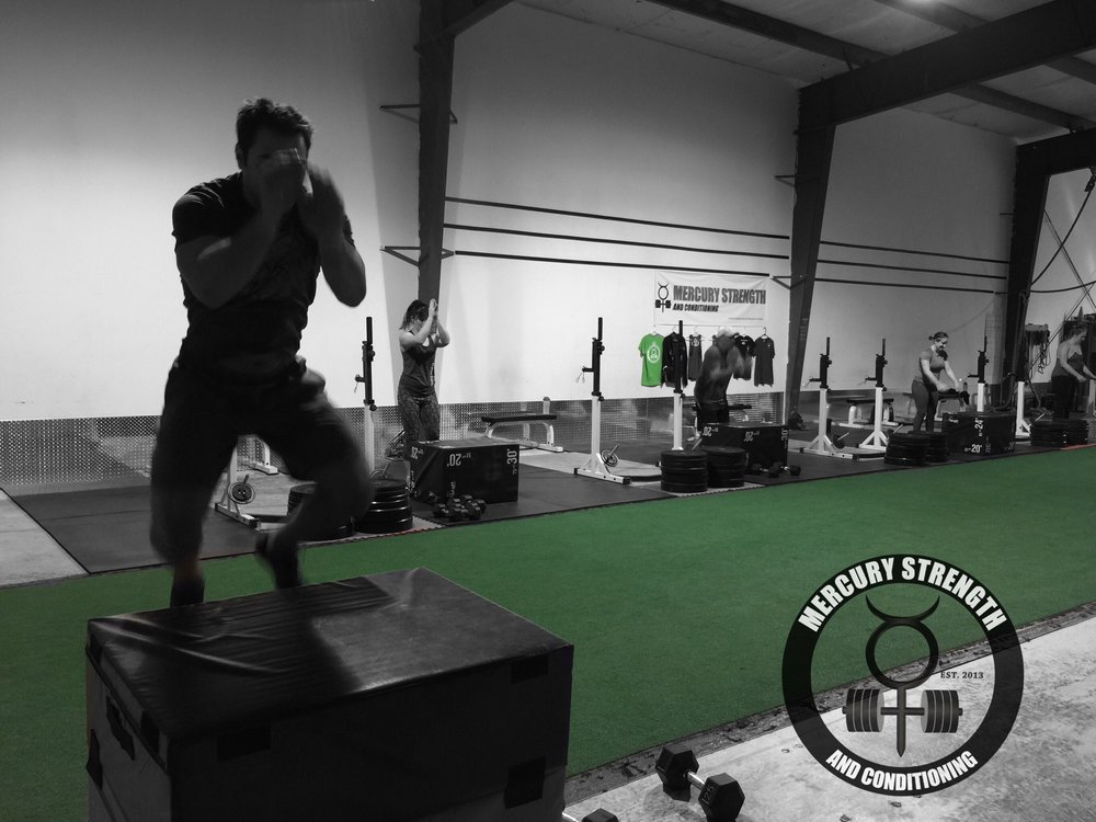 06:30 crew with some box jumps after burpees