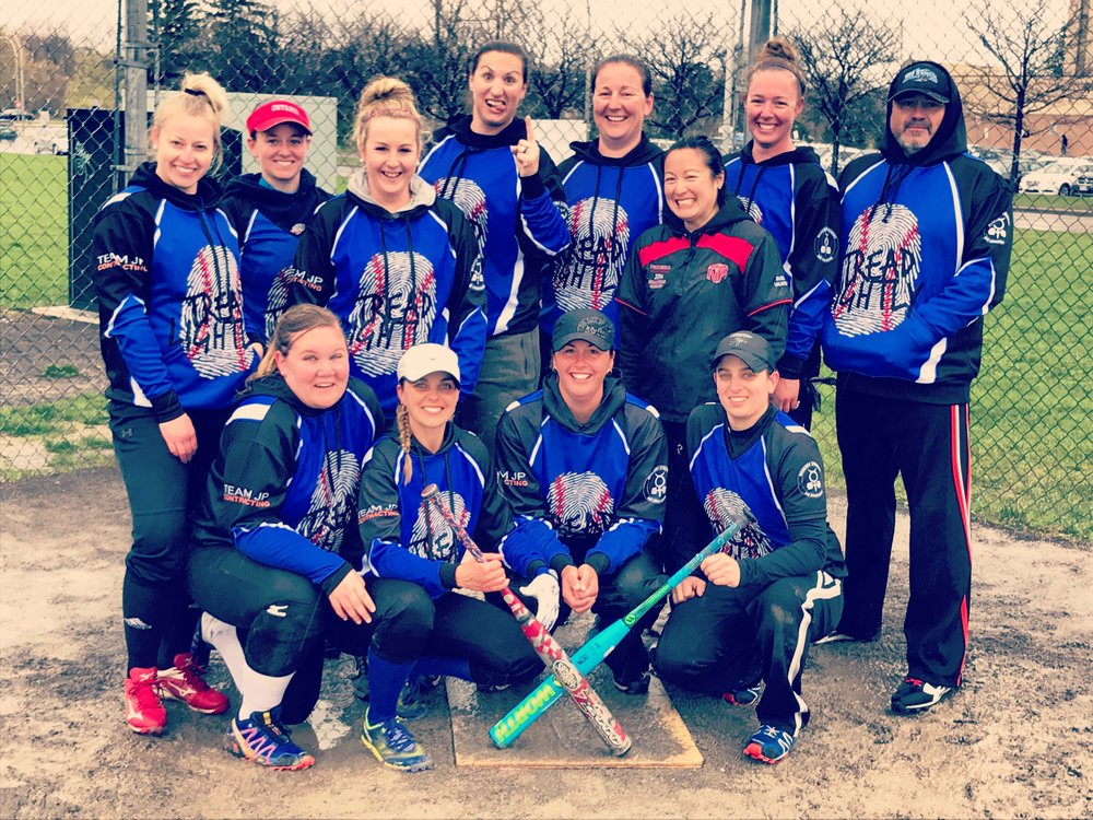 Lindsey and her softball team annihilated the competition in Ottawa this weekend