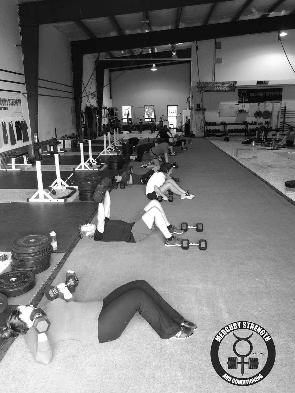 A busy 16:45 session with some DB floor presses
