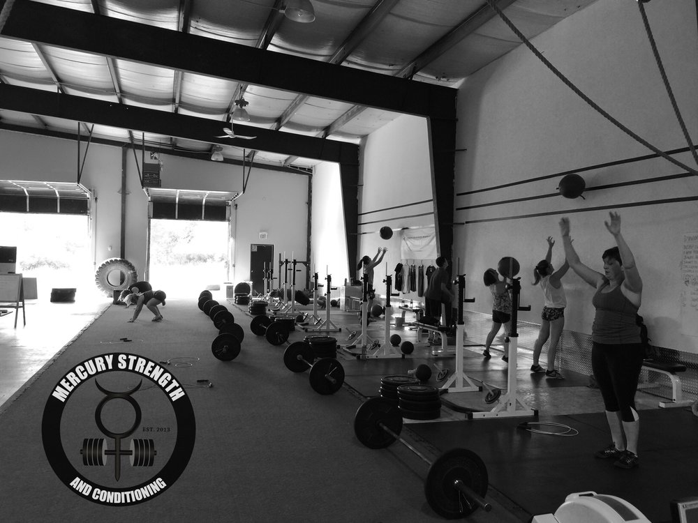 A busy 16:45 session with some wall balls and burpees