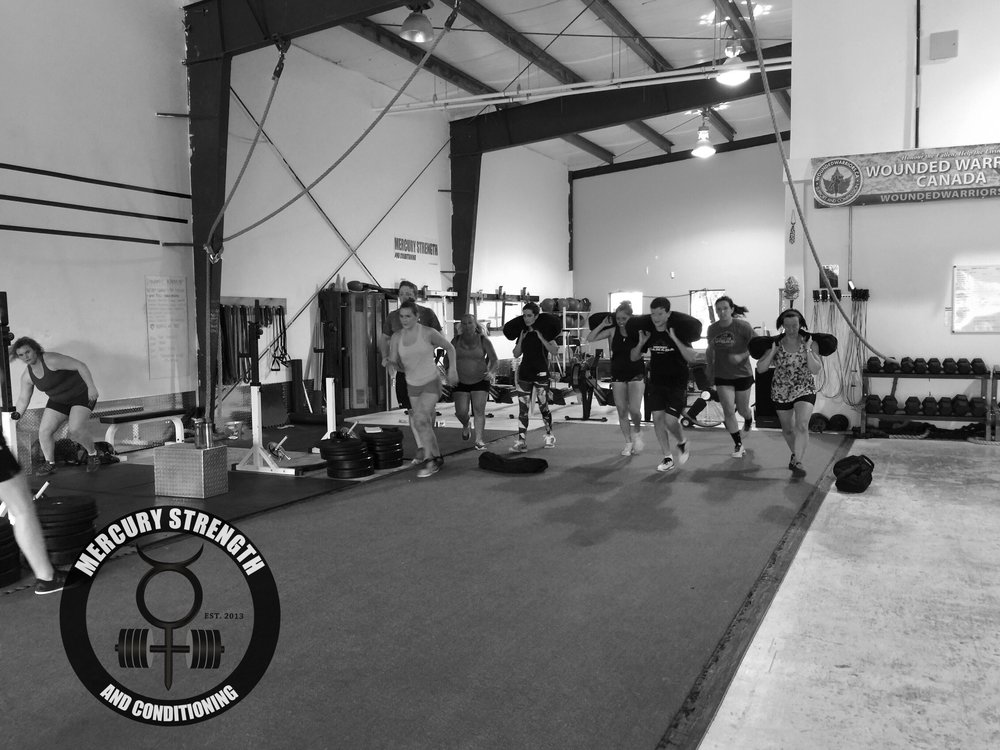 A busy 16:45 session with some sprints or sandbag sprint. Tough workout yesterday.