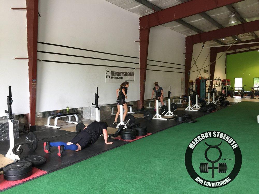 Gym-powerlifting-fitness-training-bootcamp-crossfit-kingston-kids-mercury-strength-conditioning-athlete-burpee-bar-jump-over