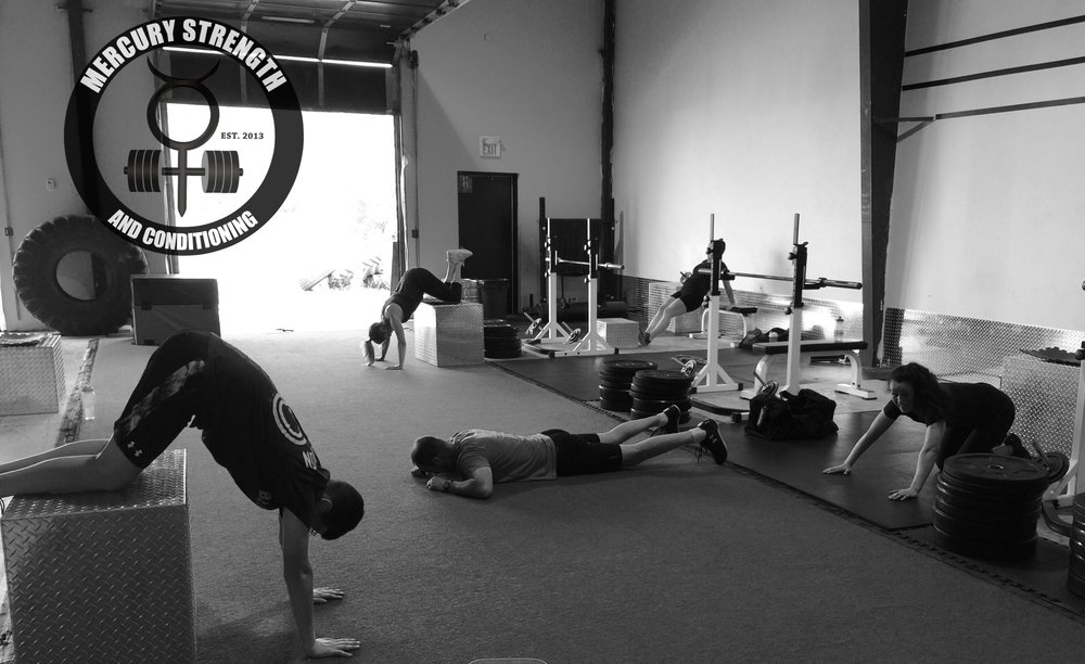 Some modifications for handstand push-ups during yesterday's workout