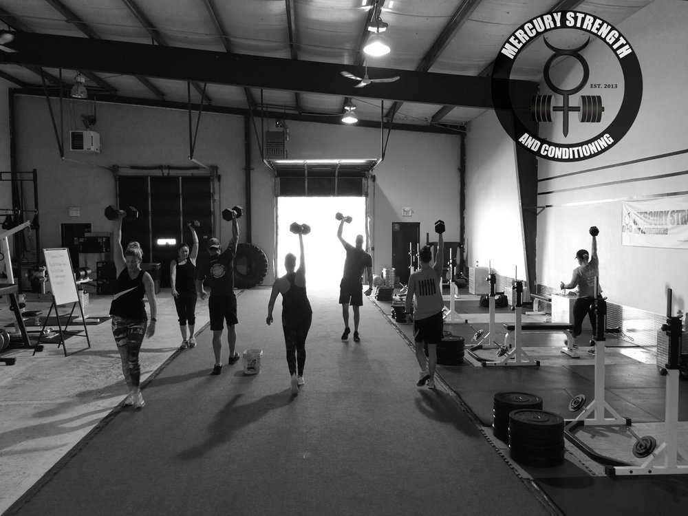 The 09:30 crew with some overhead DB carries