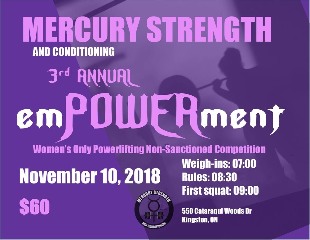 Just a reminder, registration is open for our third emPOWERment meet!