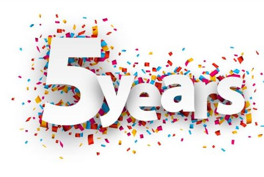 Today marks 5 years in the books! Thank you to everyone who has allowed me to help them get stronger and healthier! Without you this wouldn't happen!