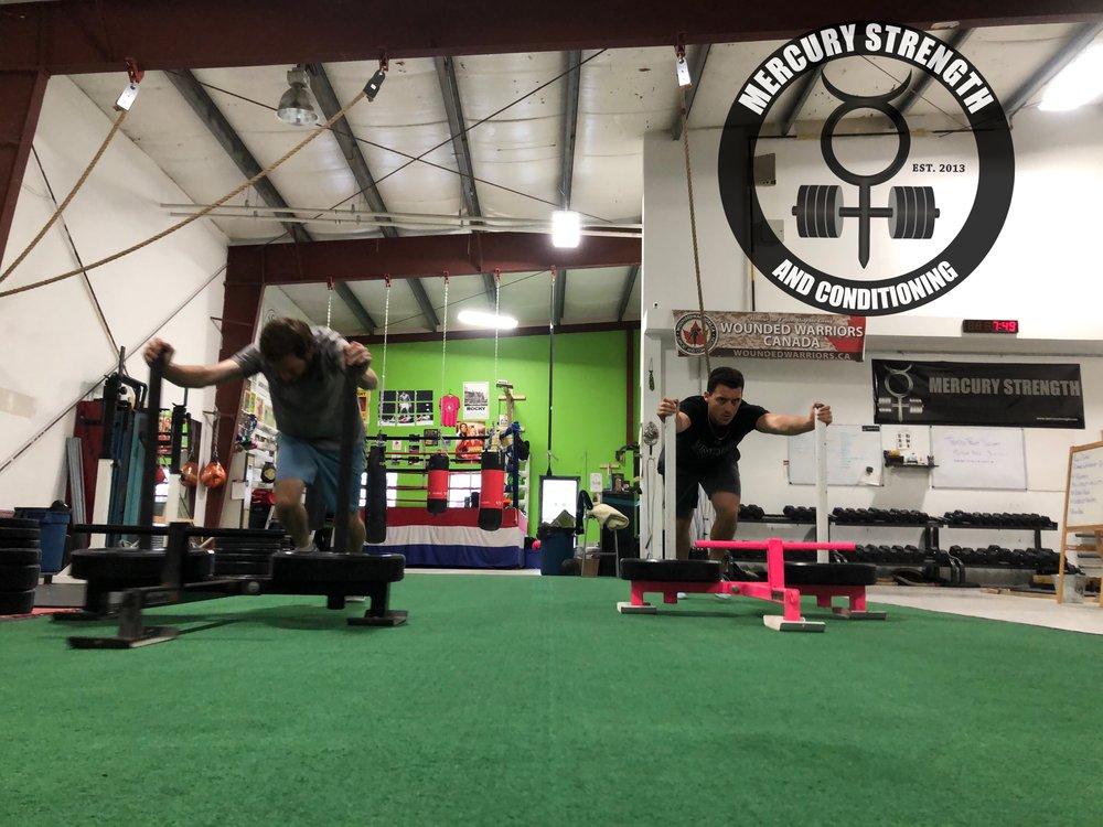 Gym-powerlifting-fitness-personal training-training-bootcamp-crossfit-kingston-kingston gym-kids-mercury-strength-conditioning-athlete-prowler