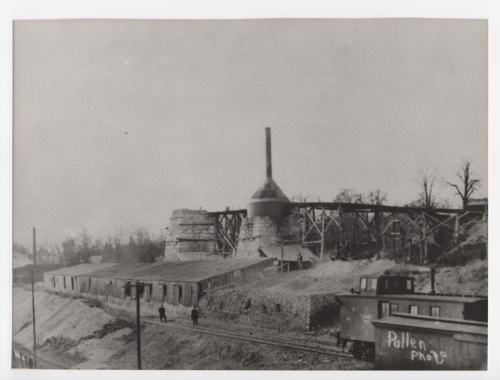 Construction of the second kiln (Image from private collection)