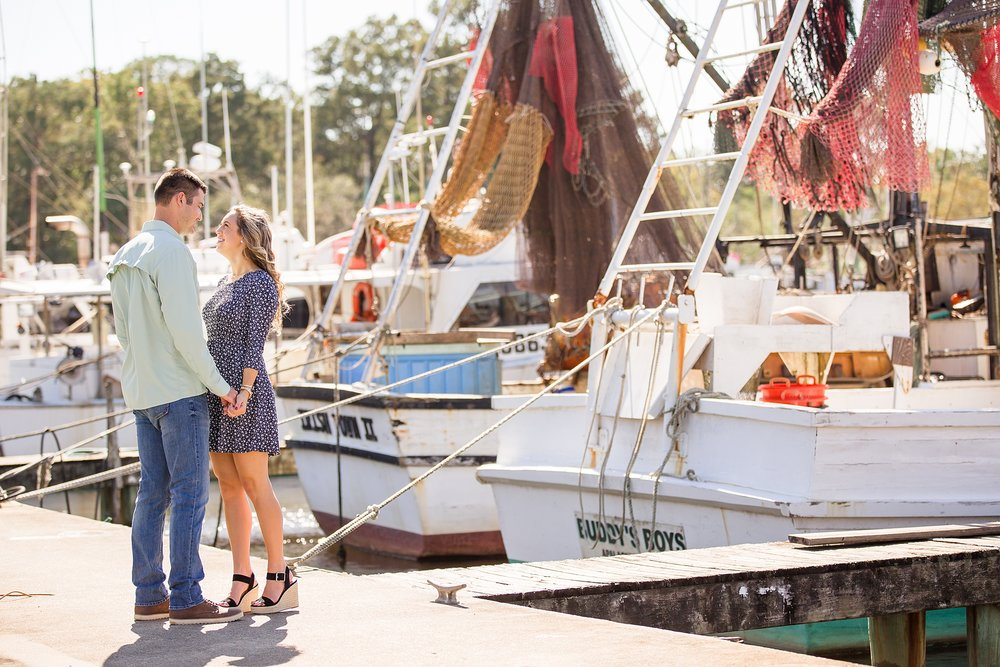 Apalachicola Engagement Pictures
