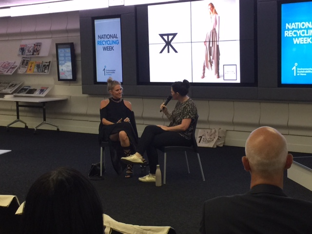 News Corp 1 Degree Talk on fashion waste with designer Kit Willow of KITX | November 2015