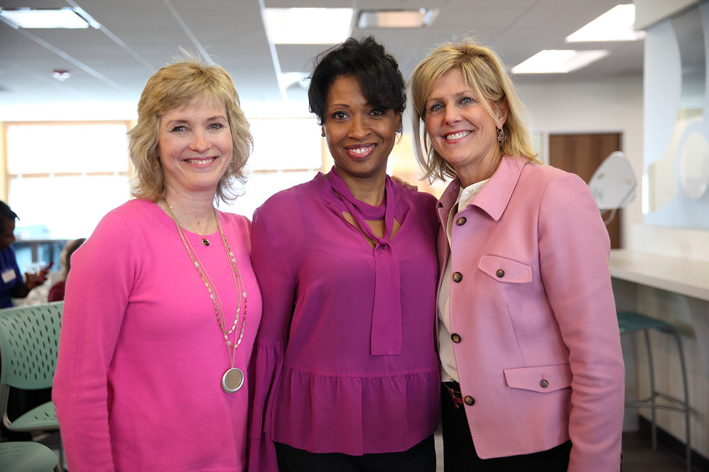 Kathy McCabe, Dr. Charisse Hudson-Quigley and Heidi Prom.  Photos by C. Saville Photography