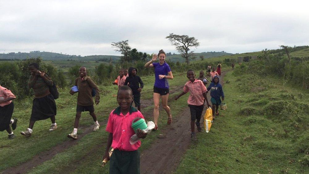 Ellie Lacey, Marathon Uganda