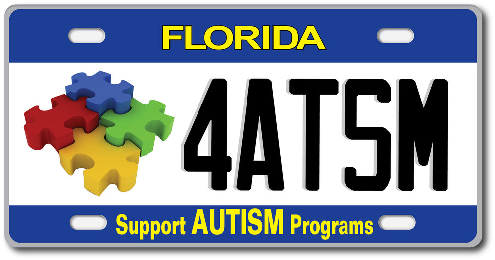Get the Plate! Raise Awareness.! Generate Funds for Services.   www.autismlicenseplate.com autismlicenseplate/facebook