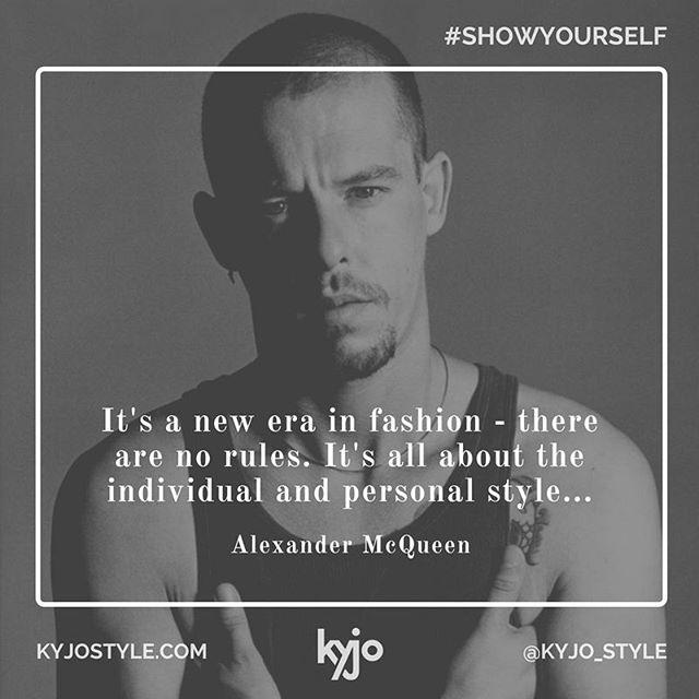 Enter the new era. #kyjo #showyourself #motivationalmondays #stylequotes #styleinspiration #torontostyle #womensfashion #womensstyle #mensfashion #mensstyle