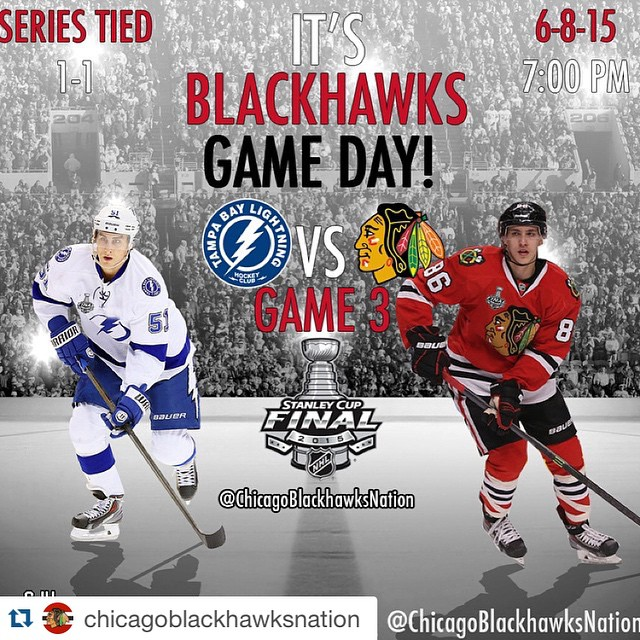 We know what we are doing tonight. Good luck! Let's take Game 3. Winning!! #macandcheese #macandcheesefest  #Repost @chicagoblackhawksnation with @repostapp. ・・・ #chicago #blackhawks #hawks #gameday #playoffs #game3 #stanleycup #chicagoblackhawks