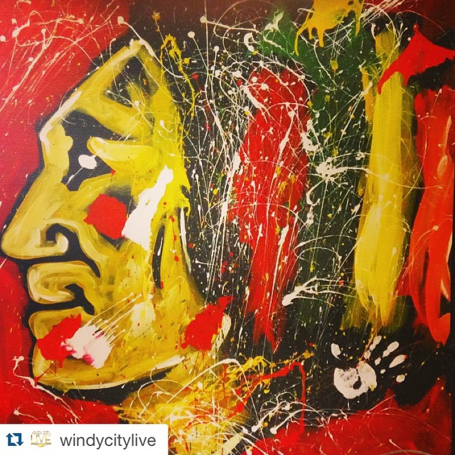 Go Hawks!!! We are rooting for you 110%! #macandcheese #macandcheesefest  #Repost @windycitylive with @repostapp. ・・・ Our #WindyCityLIVE offices are ALWAYS ready for a #Hawks win thanks to Elliott from @artbeatlive! Now let's go get them, boys! #Blackhawks #ChicagoBlackhawks #Hawks #Chicago #Hockey #NHL #BecauseItsTheCup #BlackhawksNation