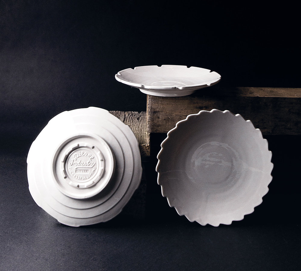 SET OF 3 SALAD PLATES