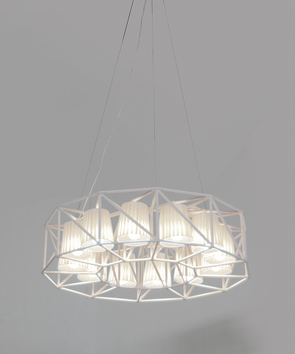 MULTLAMP PENDANT - WHITE