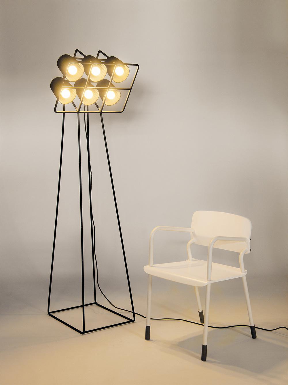 MULTILAMP STANDING LAMP