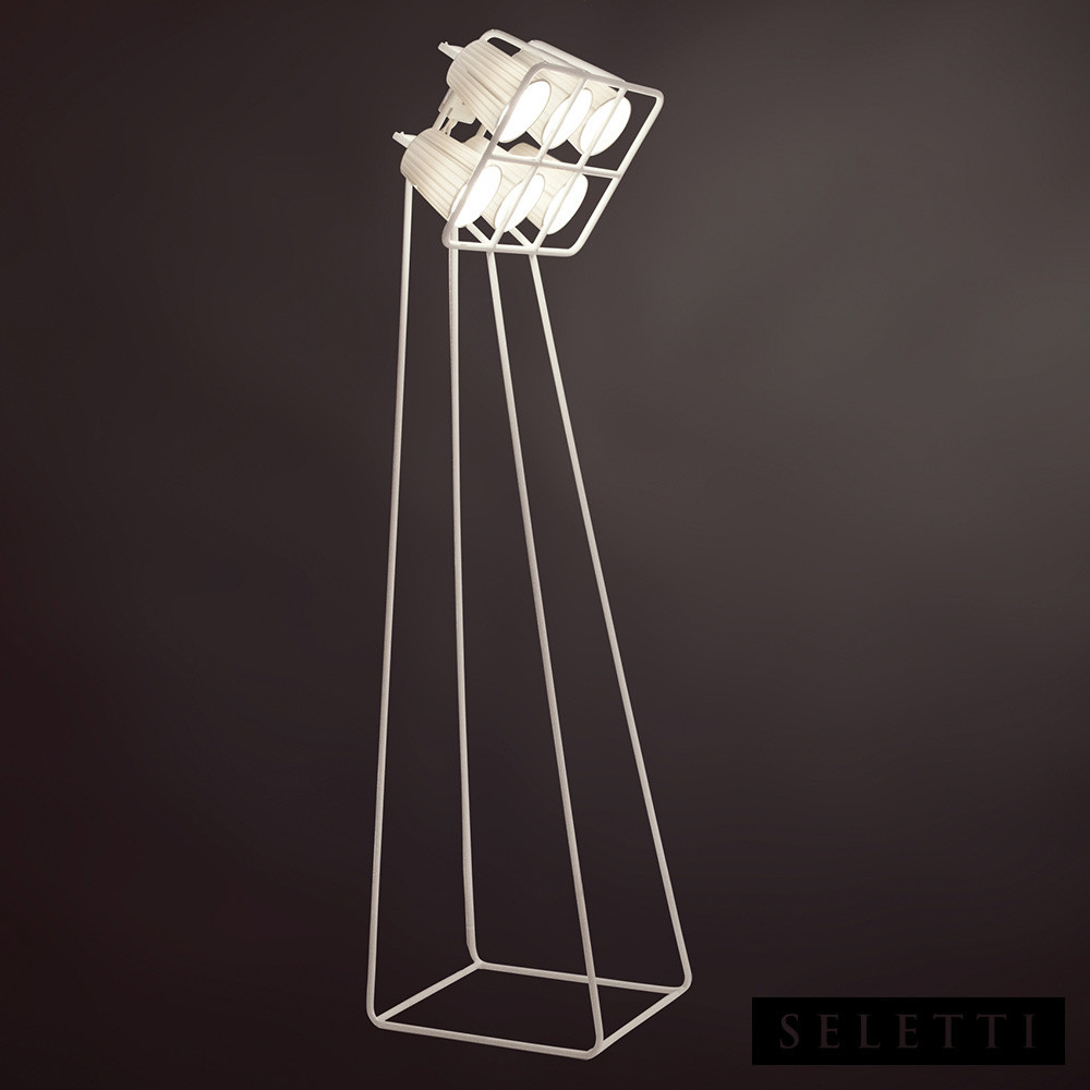 MULTILAMP STANDING LAMP - WHITE