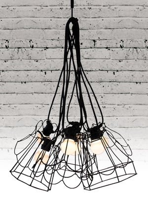 PARALUMI LAMP SHADES IN BLACK - 3 DESIGNS