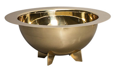 BRASS SALAD BOWL