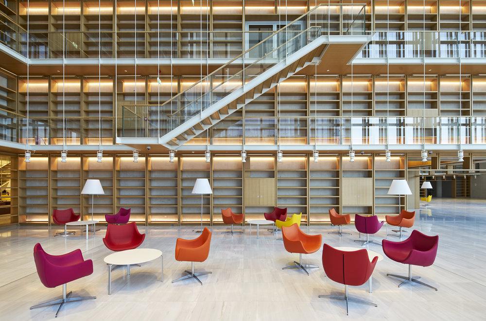 De Padova With The Renzo Piano Studio RPBW Stavros Niarchos Foundation Athens Interior Design Italian Furniture In Johannesburg