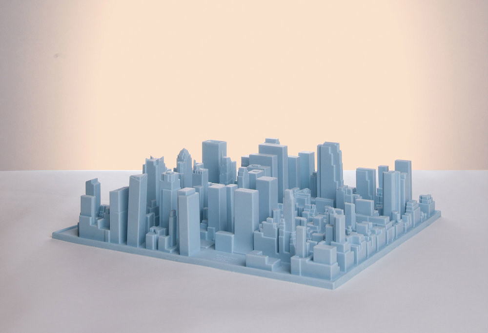 Paint your skyline blue or pink with the Inception desk organiser/dish rack from Seletti