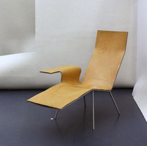 LL04 Lounger by Maarten Van Severen for De Padova.
