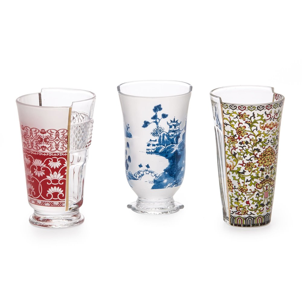 Hybird Clarice Set of 3 Large Glasses