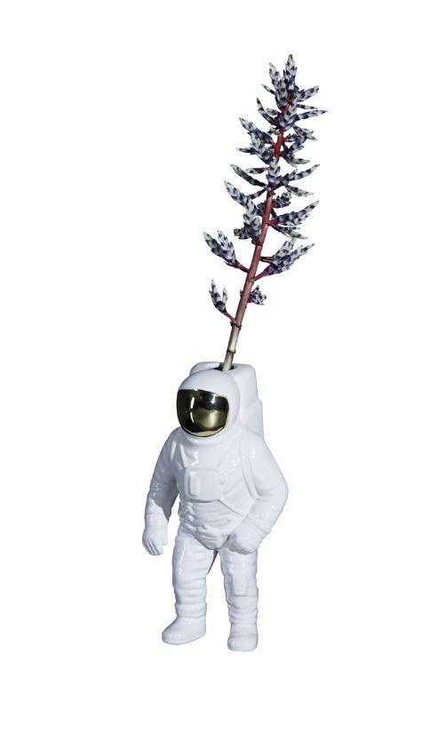 Spaceman vase