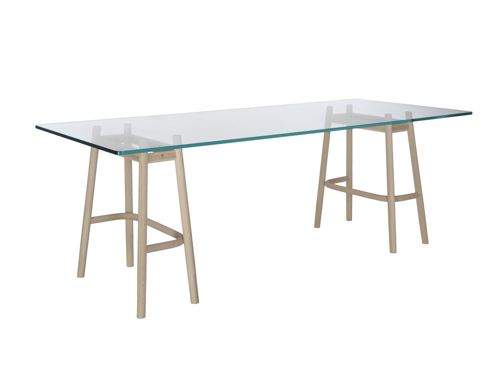 S INGLE CURVE DINING TABLE