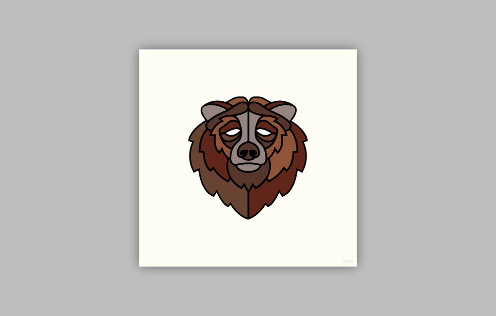 BROWN BEAR(Ursus arctos)